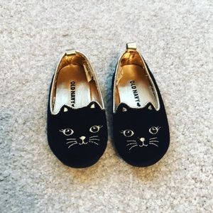 Old Navy kitty cat ballet shoes